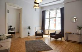 3 bedroom apartments for sale in Hungary. Spacious furnished apartment with a balcony in a building with an elevator, district VI, Budapest, Hungary