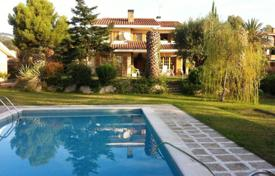 Houses with pools for sale in Alella. Villa – Alella, Catalonia, Spain