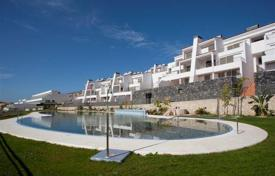 Apartments with pools for sale in La Caleta. New two and three bedroom luxury apartments in La Caleta