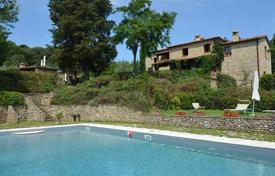 Luxury houses for sale in Siena. Fully renovated villa with a swimming pool in San Gimignano, Tuscany, Italy