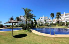 Luxury apartments with pools for sale in Andalusia. Two-level penthouse on the first line from the sea, Marbella, Andalusia, Spain