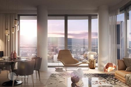 Condos for sale in Europe. Two-bedroom apartment in a new condominium in the European Quarter, Gallus area, Frankfurt