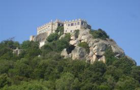 The castle on huge granite monoliths with views on the valley and the coast for 5,000,000 €