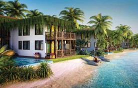 Off-plan property for sale in Southeastern Asia. Three-bedroom villa in Phu Quoc, Vietnam. High-end beachfront residential complex with clubs and business center. Guaranteed rental income!