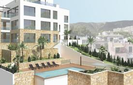 Luxury 4 bedroom apartments for sale in Balearic Islands. Luxury apartment with panoramic windows and views of the Cala Nova harbor, in a new residential complex, San Agustin, Mallorca, Spain