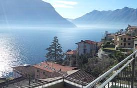 Cheap 3 bedroom apartments for sale in Lake Como. Lake Como, Sala Comacina apartment N. 7 with pool