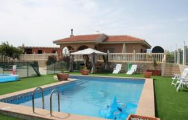 Houses with pools for sale in Murcia. Villa with a rooftop terrace and a pool, Fortuna, Spain