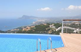 Apartments with pools for sale in Altea. High class apartment with sea and mountain views in Altea, Alicante, Spain