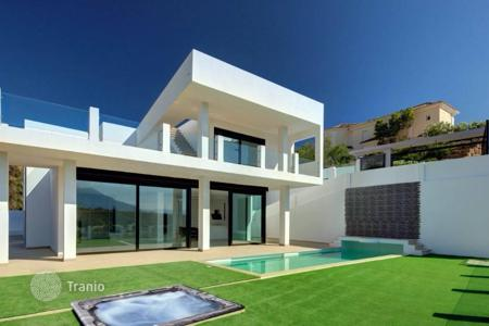 Luxury 5 bedroom houses for sale in Marbella. Modern style villa is located in the prestigious suburb of Marbella