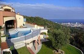 4 bedroom houses for sale in Castell Platja d'Aro. Modern villa with a pool, a terrace and sea views, close to the beach and a golf course, Castell Platja d'Aro, Spain