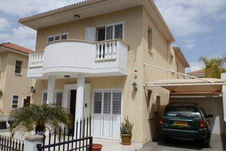 Coastal houses for sale in Cyprus. Two-storey villa with swimming pool in district Universal, Paphos