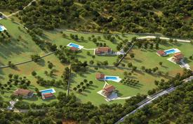 Development land for sale in Istria County. Plot with a project for the construction of seven villas, Pazin, Croatia