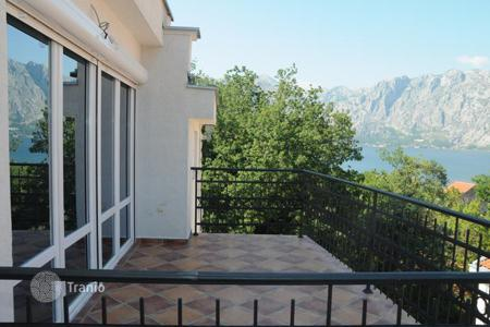Residential for sale in Kotor. Apartment with three terraces, a balcony and views of the forest and the sea, Prčanj, Montenegro