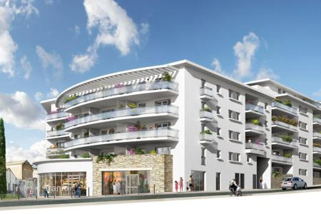 Residential from developers for sale in France. PREMIUM TERRACED APARTMENTS 5MIN WALK TO THE SEASIDE