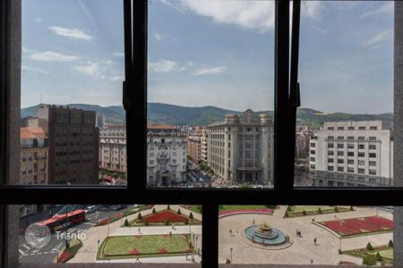 Luxury property for sale in Bilbao. Spacious apartment with the view over Moyua squared in the center of Bilbao, Spain