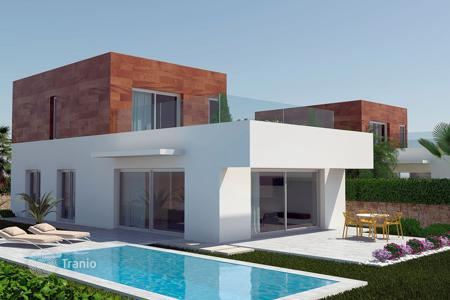 Houses with pools for sale in Cabo Roig. Villas with sea views in Lomas de Cabo Roig