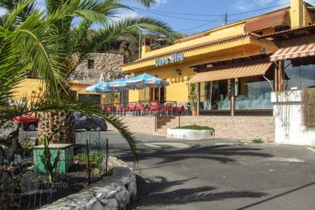 Commercial property for sale in Canary Islands. Restaurant and apartment complex in Guía de Isora, South of Tenerife, Spain