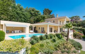 Houses for sale in Mandelieu-la-Napoule. Beautiful Neo-Provencal style villa with panoramic sea views, a private garden, a pool and a parking, Mandelieu-la-Napoule, France