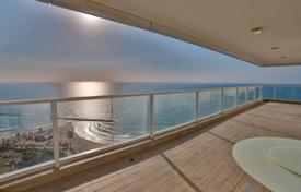 Elite penthouse with a terrace and sea views in a bright residence, near the beach, Netanya, Israel for $2,585,000