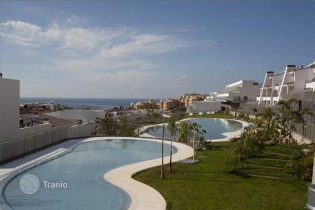 New homes for sale in Tenerife. Luxury apartments in a new residential complex in the coastal town of La Caleta, Tenerife