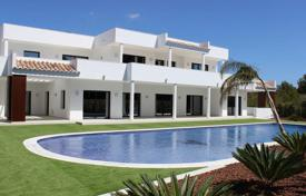 Luxury 5 bedroom houses for sale in Moraira. Luxury high-quality villa with a swimming pool, terraces and an elevator near the sea, Moraira, Spain