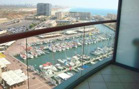 Apartments with pools by the sea for sale in Western Asia. Apartment with a seaview balcony in a prestigious residence with a pool and a gym, 30 meters from the beach, Herzliya, Israel