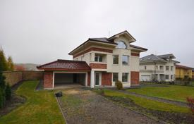 New three-storey house with garage, swimming pool and land in the village of Lany, Czech Republic for 222,000 €