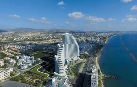 Coastal new homes for sale in Cyprus. New apartments in a residential complex on the sea, Limassol, Cyprus