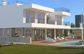Property for sale in Lagos. Plot and construction of luxury 3 bedroom villa with sea views near Lagos, West Algarve