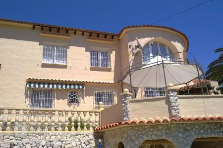 Property for sale in Senija. Detached house of 5 bedrooms with private pool in Benissa