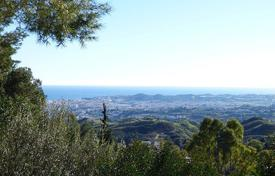 Development land for sale in Mijas. Plot with a sea view, close to the beach, Mijas, Spain