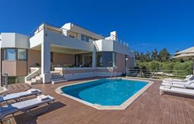 High-class villa with a large plot near the beach in Chania, Crete, Greece for 1,500,000 €