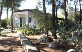Houses for sale in Apulia. Cozy villa in the pine forest overlooking the sea, Tricase, Italy