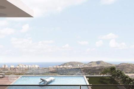 Houses for sale in Finestrat. 4 bedroom luxury high-tech villas with stunning sea views, infinity pool and basement in Finestrat, Benidorm