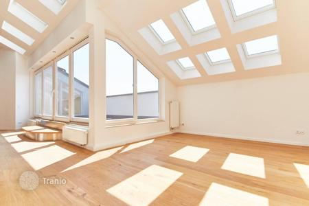 Penthouses for sale in Germany. Modern four-room penthouse with a gallery near Berlin Zoo, the Mitte district