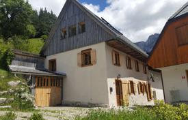 Property for sale in Tolmin. This is a beautiful renovated village house with three/four bedrooms, superb kitchen and plenty of well designed space