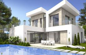 Houses with pools for sale in Benidorm. Villa – Benidorm, Valencia, Spain