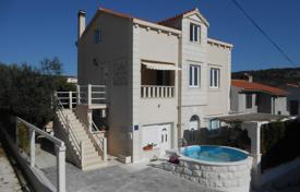 Coastal houses for sale in Croatia. Villa with a pool, a garage and a sea view, Ciovo, Croatia