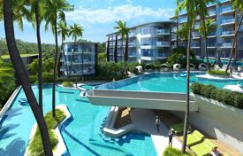 Bright studio with a terrace and a direct access to a pool in a new residential complex, near the beach, Kamala, Phuket, Thailand for 122,000 €
