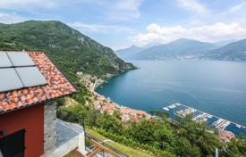 Luxury houses with pools for sale in Lombardy. Beautiful villa in a picturesque location on Lake Como in Menaggio