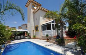 Houses for sale in La Zenia. Three-level villa with a pool in La Zenia, Alicante, Spain
