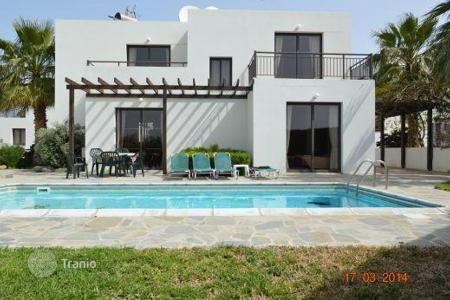 Coastal property for sale in Kissonerga. 8 x 3 Bedroom Detached Villas on Private Compex 50m To Sandy Beach