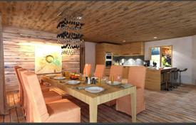 Cheap residential for sale in Auvergne-Rhône-Alpes. Three bedroom apartment with mountain views in the new building in the ski resort of Morzine, Haute-Savoie, France