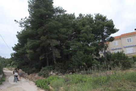 Cheap land for sale in Split-Dalmatia County. Building land Building land with a sea view
