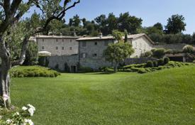 Luxury houses with pools for sale in Veneto. Historic manor built in 1800 year on Lake Garda