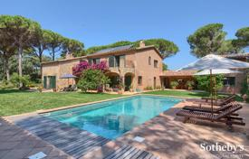 6 bedroom houses for sale in Costa Brava. Manor with a swimming pool, a garden, a guest house and a closed forest area, near the beach, Pals, Spain