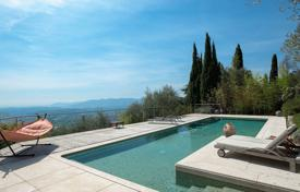 Luxury 5 bedroom houses for sale in Côte d'Azur (French Riviera). Cannes backcountry — Panoramic sea and mountain views
