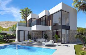 Detached villas with 4 bedrooms and sea views in Finestrat for 890,000 €