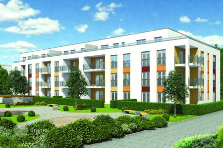 3 bedroom apartments for sale in Baden-Wurttemberg. New 3-bedroom apartment in Offenburg, area Seitenpfaden