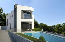 Coastal residential for sale in Rožmanići. Villa under construction in Kostrena
